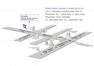 Giffarine Factory Map